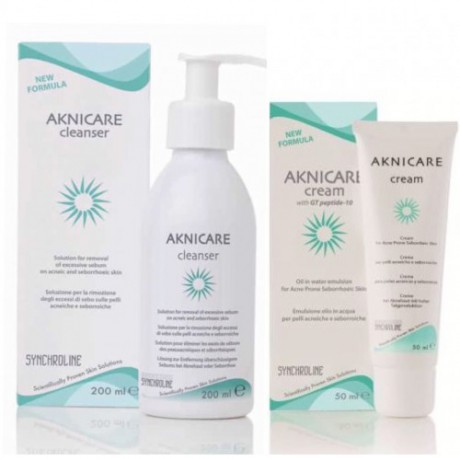 Aknicare Cleanser + Cream Duo Set