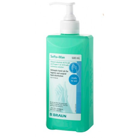 B Braun Softa-Man Cutaneous Solution 500ml