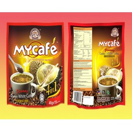 Coffee Tree Mycafe Penang Durian White Coffee 4 in 15'x 40G