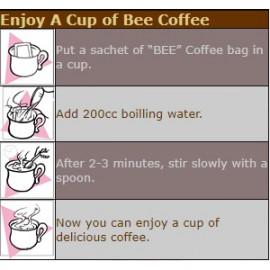 Bee Kopi O without Sugar 20'x10GM