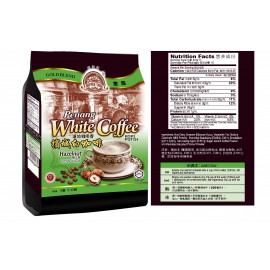 Coffee Tree Gold Blend Penang White Coffee Hazelnut 15' x 40G