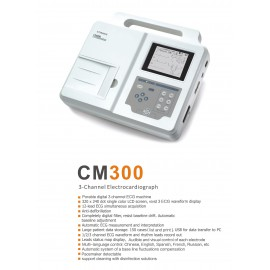 ECG Machine 3-Channel Brand COMEN