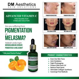 DM Aesthetics Advanced Vitamin C (25%) 20ML (NEW PACKING)
