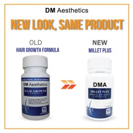 DM Aesthetics Hair Growth Formula 90 Capsules