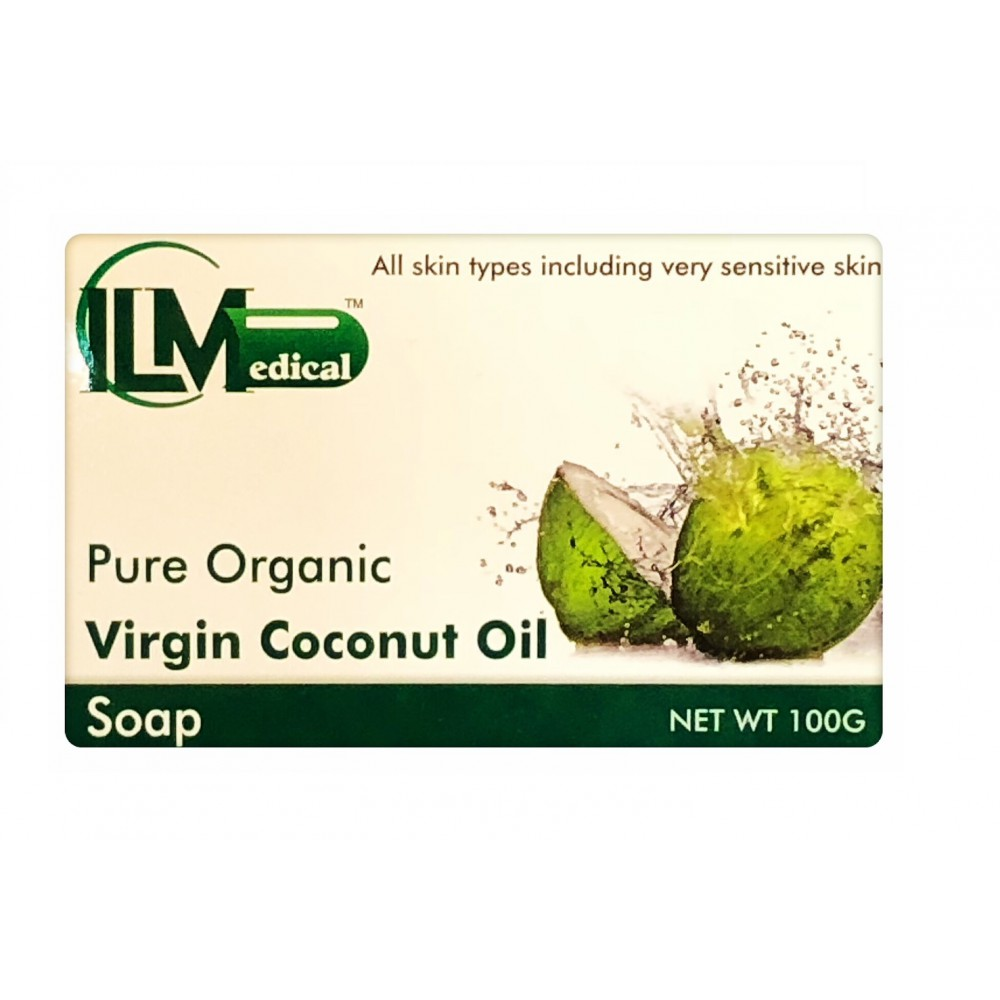 Pure Organic Virgin Coconut Oil Soap 100G