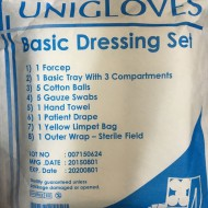Unigloves Basic Dressing Set (1Forcep)