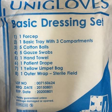 Unigloves Basic Dressing Set (1Forcep)